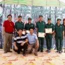 Hội thi Bàn tay vàng khai thác mủ cao su cấp Viện năm 2018